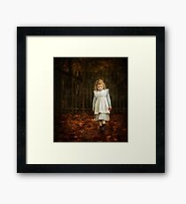 Lonley Child Framed Print