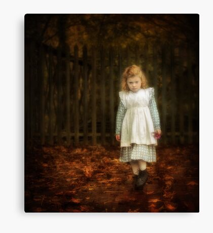 Lonley Child Canvas Print