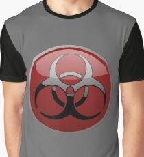 ZOMBIE APOCALYPSE HAZMAT by Zombie Ghetto Graphic T-Shirt