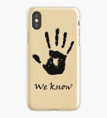 Dark Brotherhood iPhone Case/Skin