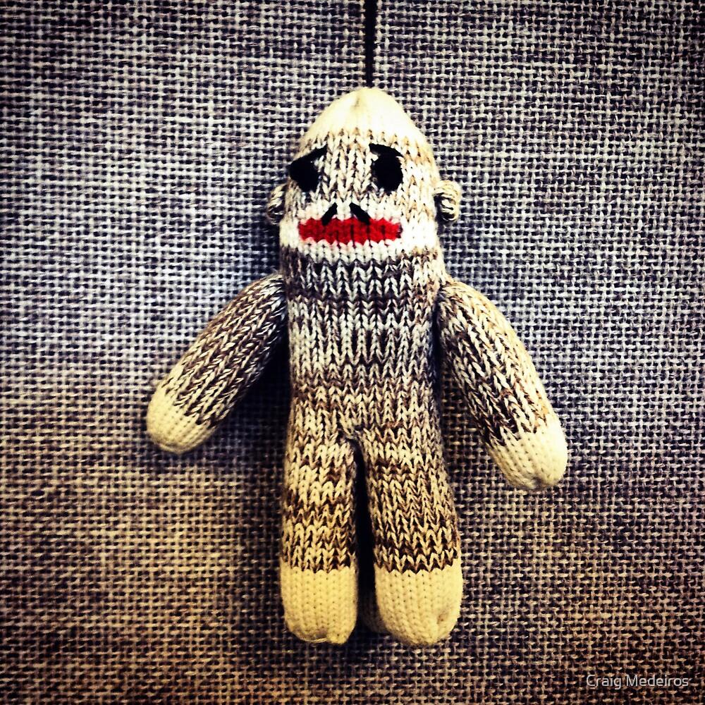 Sock Monkey by Craig Medeiros