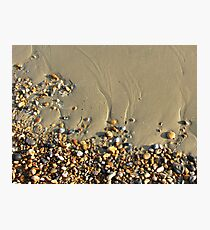 Pebbles on a Beach Photographic Print
