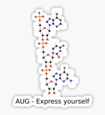 Express Yourself with AUG Sticker