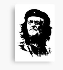 Che Corbyn - Jeremy Corbyn and Che Guevara political mash-up tshirt | Labour party leader Canvas Print
