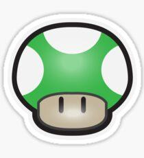 Mushroom-Green Sticker