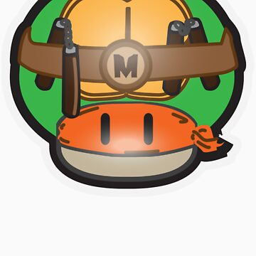 Mushroom-Mutant Turtle von DarkChoocoolat