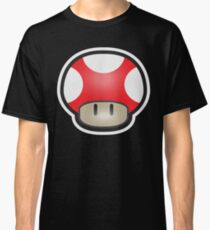 Mushroom-Red Classic T-Shirt