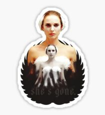 Black Swan sweet girl Sticker