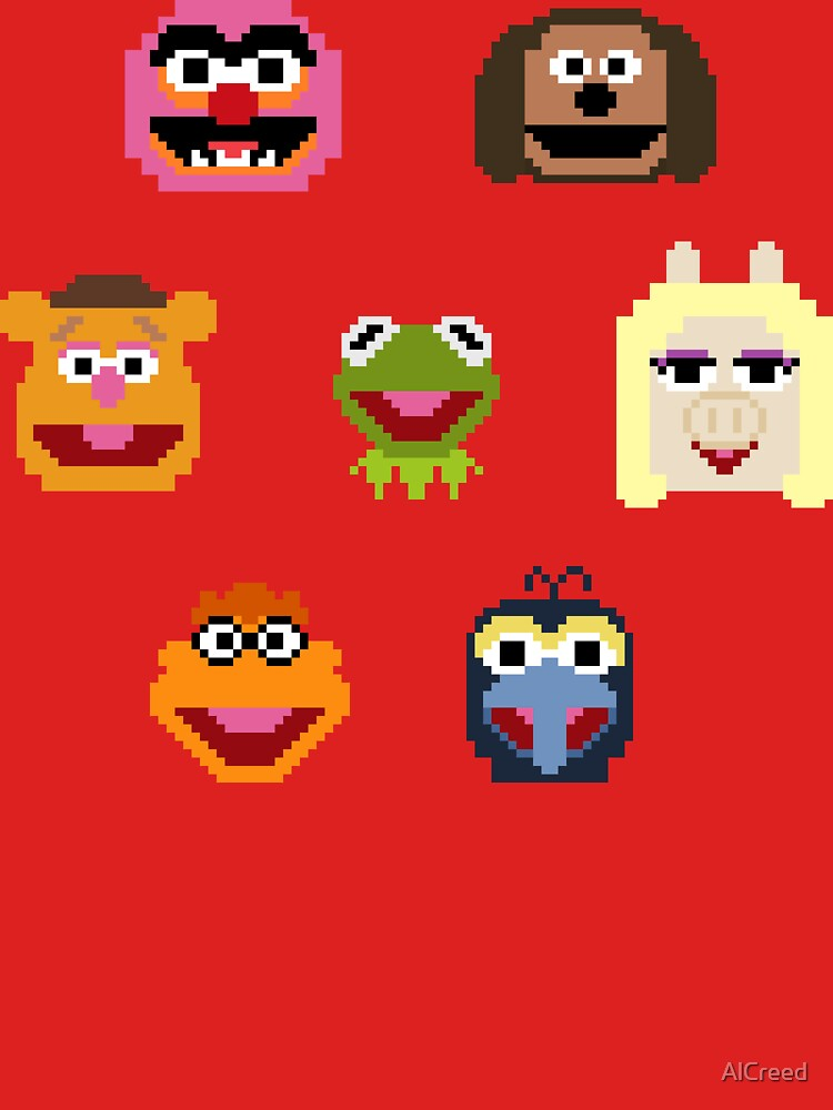 8-Bit Muppets by AlCreed