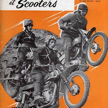 Vintage French Motorcycle Magazine  by Mcflytrek