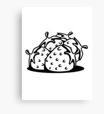 Strawberry fruit sweet bio Canvas Print