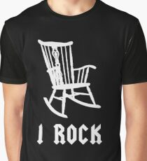 I ROCK AC/DC STYLE Graphic T-Shirt