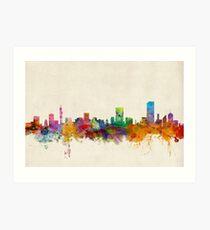 Pretoria South Africa Skyline Art Print