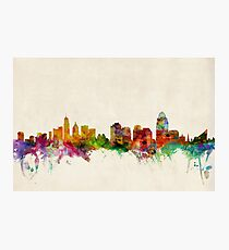 Cincinnati Ohio Skyline Cityscape Photographic Print