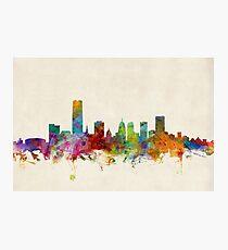 Oklahoma City Skyline Cityscape Photographic Print