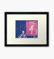Fallon in Water  Framed Print