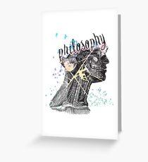 Philosophy Greeting Card
