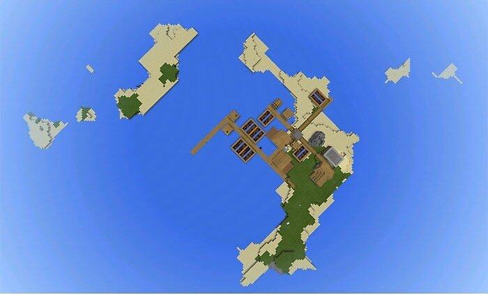 Seeds for Minecraft PE: Apple Village Island by minecraftpemaps