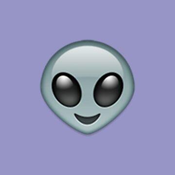 Alien Emoji by PaperSheep