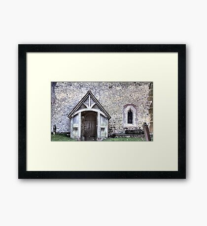Domesday Church Framed Print