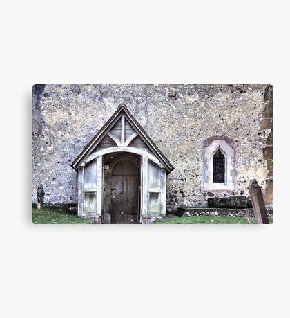 Domesday Church Canvas Print