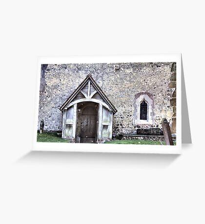 Domesday Church Greeting Card