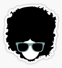 Hipster (wearing glasses) Sticker