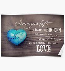 Broken Heart Full of Love Poster
