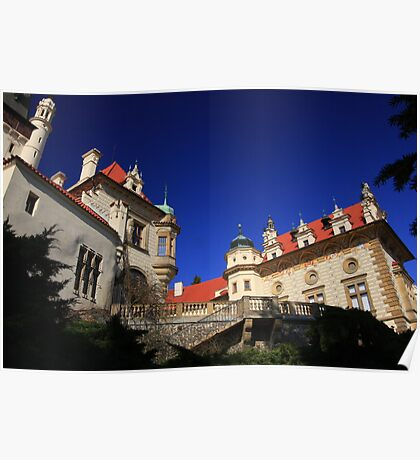 Proud Castle on a sunny day Poster