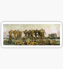 Vintage John Singer Sargent World War I Gassed Sticker