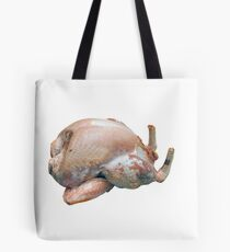 Turkey Raw and Plucked Tote Bag