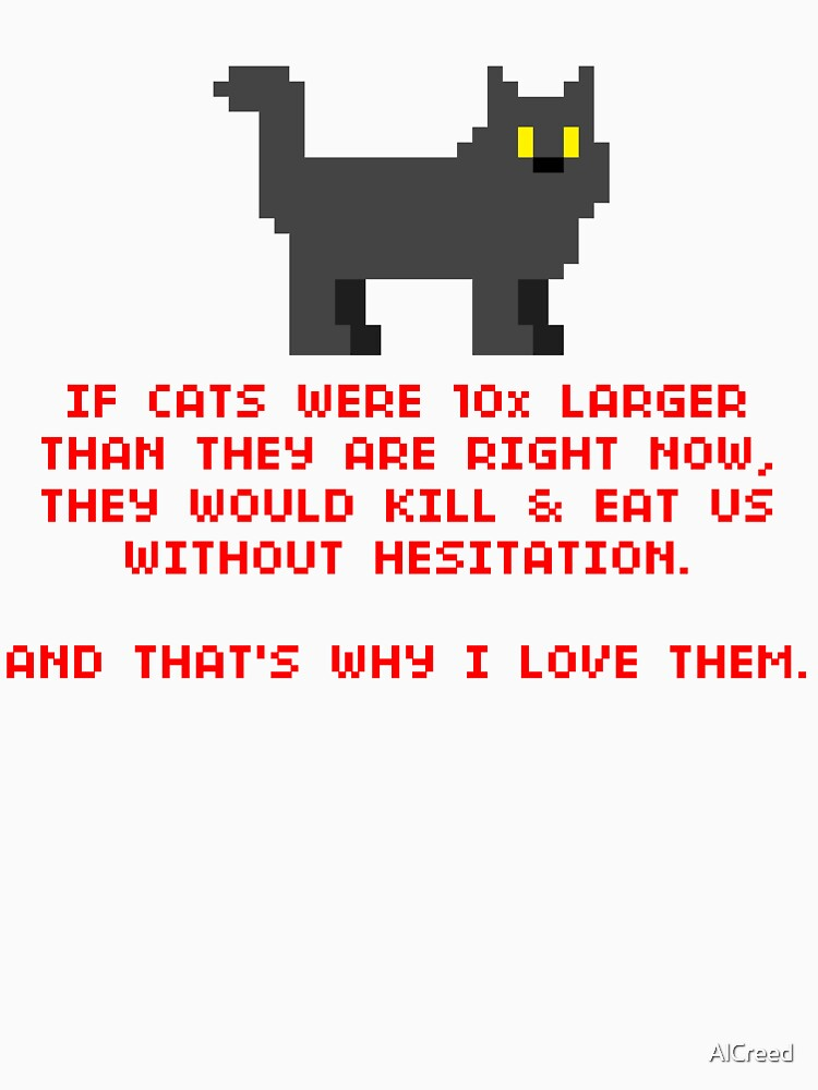 8-Bit Cat Enthusiast by AlCreed