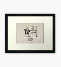 SASTRE (Tailor) Framed Print