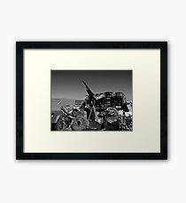 Army mobile equipment Framed Print