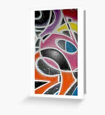 Graffiti Abstracts Greeting Card