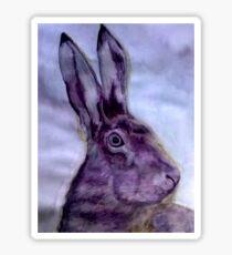 Hare Sticker