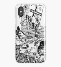 Death Masks iPhone Case