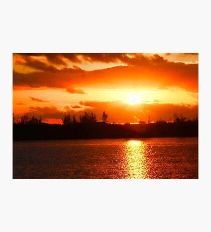 Sunset at Green Turtle Cay Photographic Print