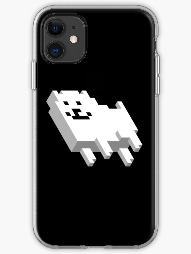 Cute Pixel Dog Iphone Case By Sam Smith