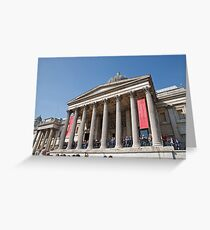 The National Gallery in Trafalgar Square London Greeting Card