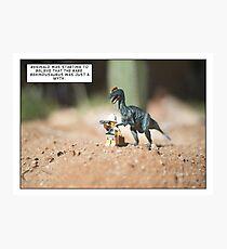 Behindusaurus Photographic Print
