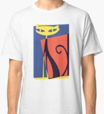 Pop Art Retro Cat Classic T-Shirt