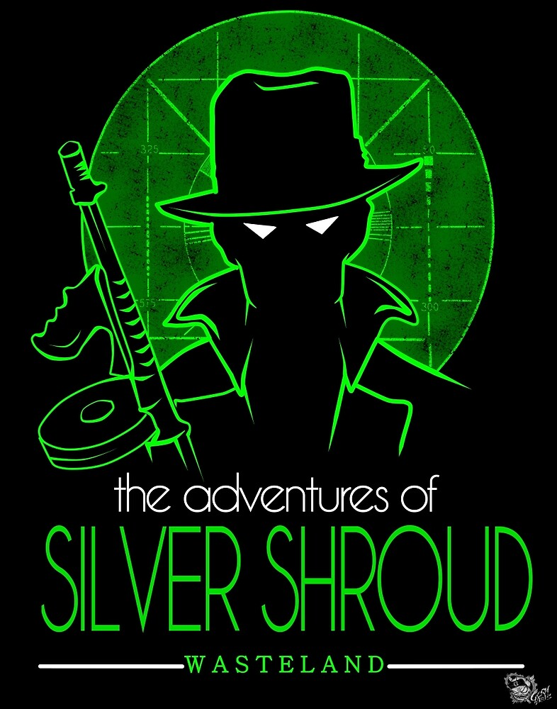 The Adventures of Silver Shroud by geryarts