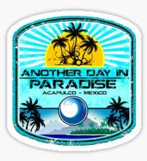 Acapulco Beach Day Sticker
