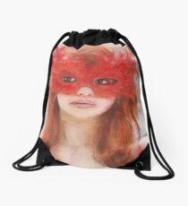 Le Masque Rouge Drawstring Bag