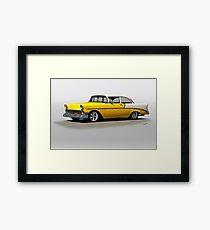 1956 Chevrolet Post Coupe I Framed Print