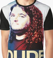 Lost - Hurley (Dude) Graphic T-Shirt