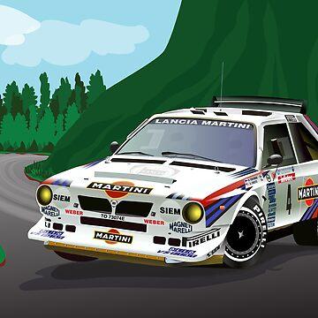 Lancia Delta S4 - Tour de Corse by tomredod