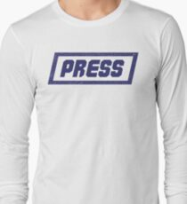 PRESS Blue - FrontLine T-Shirt
