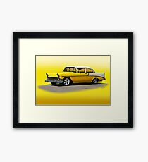1956 Chevrolet Post Coupe II Framed Print